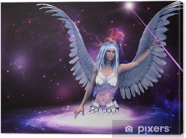Tableau sur toile Espace ange - Autres sentiments