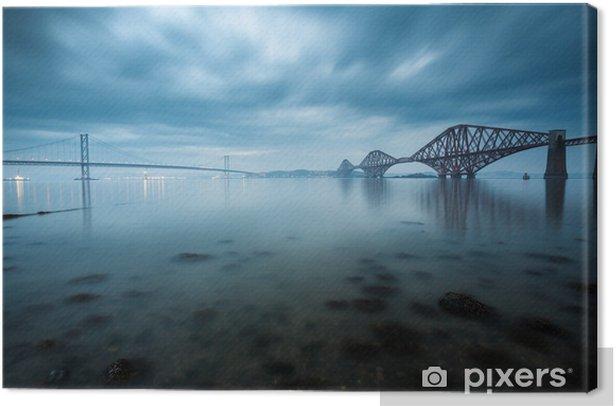 Tableau sur toile Etc ponts à Édimbourg, en Écosse - Édimbourg