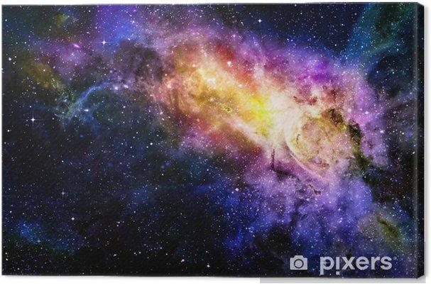 Tableau sur toile Étoilé nebual profonde espace extra-atmosphérique et la galaxie - Thèmes