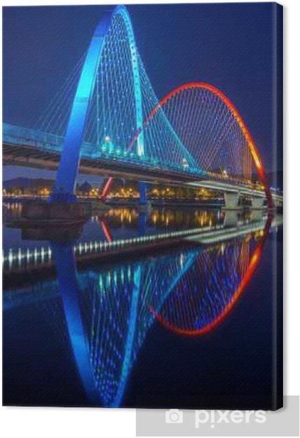 Tableau sur toile Expo Pont à Daejeon, Corée du Sud. - Voyages