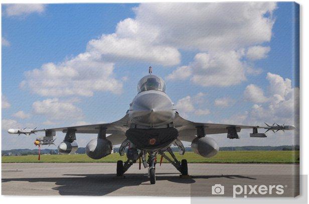 Tableau sur toile F16 Dou War Machine - Dans les airs
