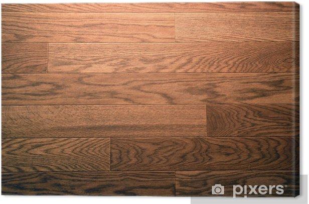 Tableau sur toile Faux bois plancher fond - Autres