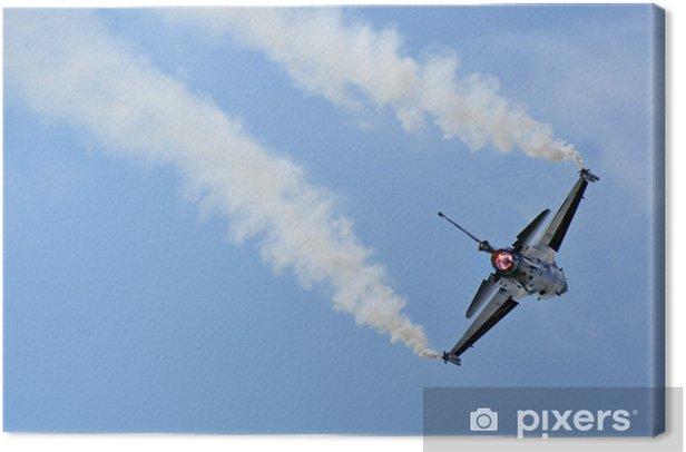 Tableau sur toile Fighter aircraft - Dans les airs