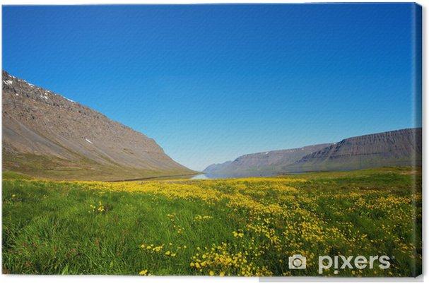 Tableau sur toile Fjords de l'Ouest - Europe