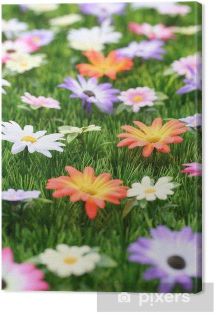 Tableau sur toile Fleur 28 - Ecologie
