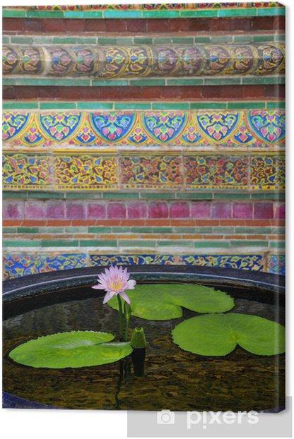 Tableau sur toile Fleur de lotus - Religion