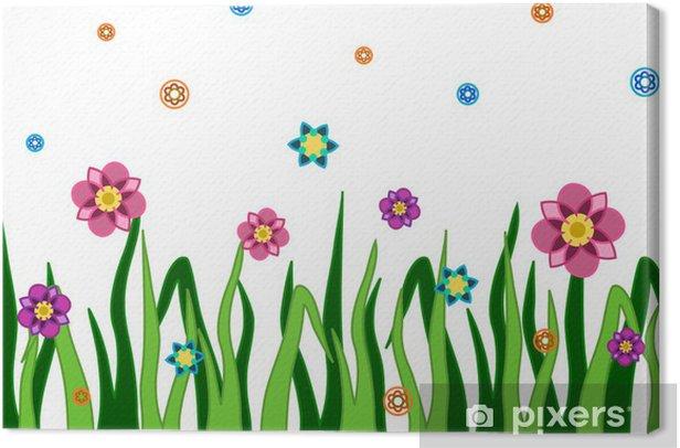 Tableau sur toile Fleurs - Fleurs