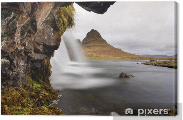 Tableau sur toile Flowing water - Merveilles naturelles