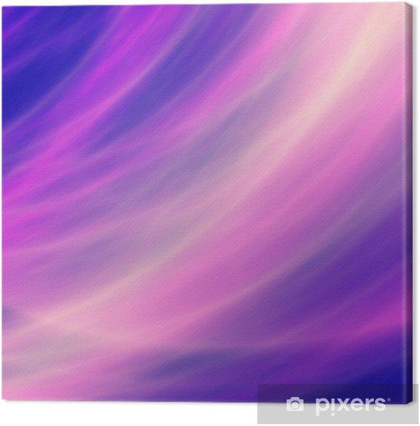 Tableau sur toile Flux flux de fantaisie colorée abstraite de fond - Autres sentiments