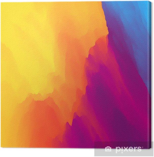 Tableau sur toile Fond coloré abstrait. modèle de conception. modèle moderne. Vector illustration pour votre conception. - Ressources graphiques