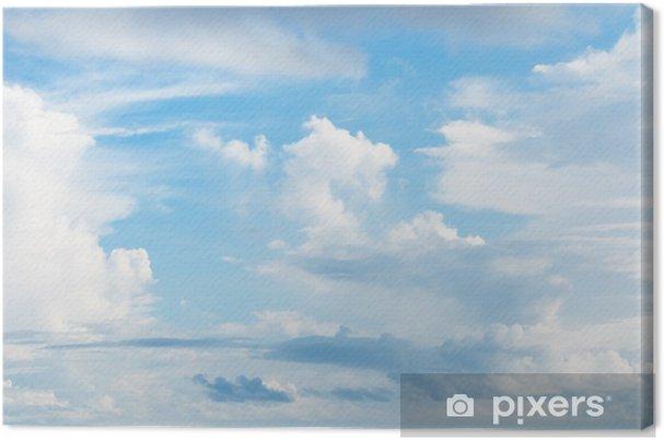 Tableau sur toile Fond de ciel nuageux - Ciel