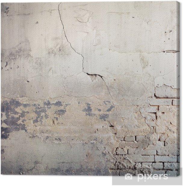 Tableau sur toile Fond de mur - Thèmes