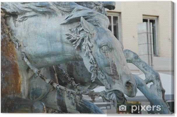 Tableau sur toile Fontaine de la place des terreaux - Monuments