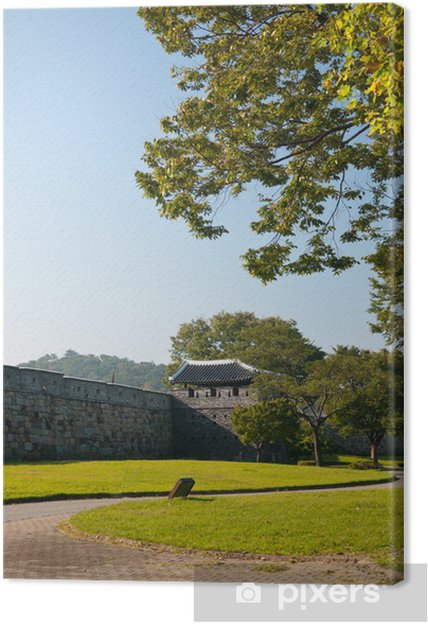 Tableau sur toile Fortress Wall - Monuments