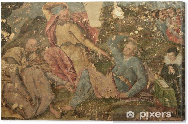 Tableau sur toile France, collégiale Saint Gervais Saint Protais de Gisors - Vacances