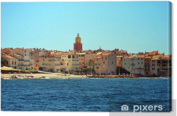 Tableau sur toile France - Saint Tropez - Thèmes