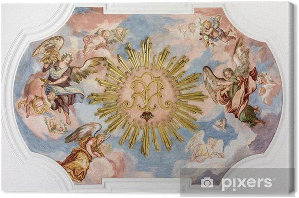 Tableau sur toile Fresco anges - Thèmes