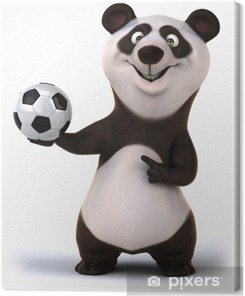 Tableau sur toile Fun panda - Signes et symboles