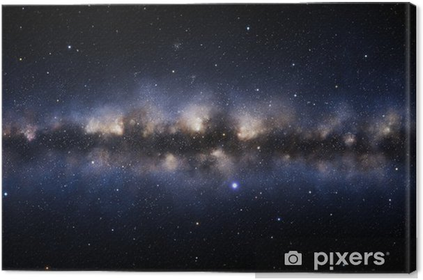 Tableau sur toile Galaxie Illustration - Espace