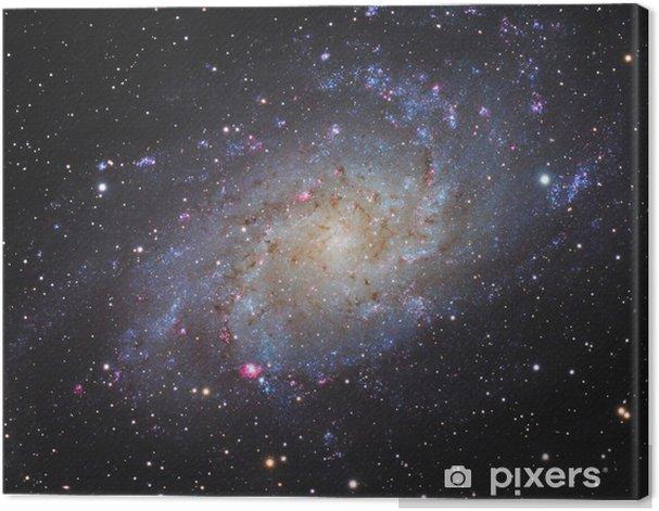 Tableau sur toile Galaxie spirale - Univers