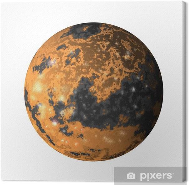 Tableau sur toile Ganymède - Espace