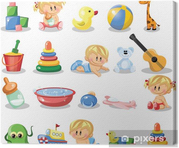 Tableau sur toile Garçons de droits, des bébés - Enfants