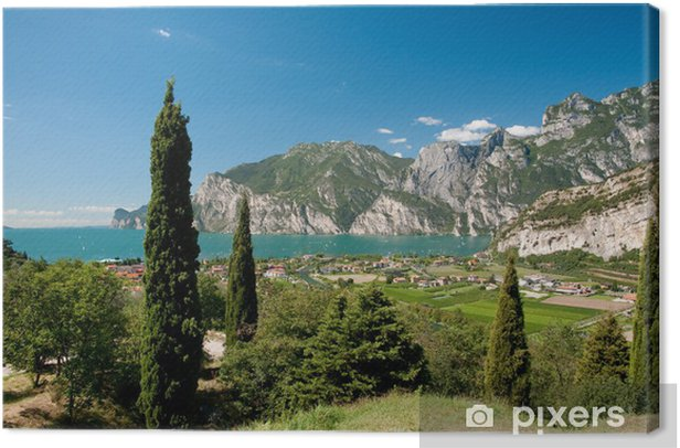 Tableau sur toile Gardasee - Europe