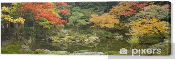Tableau sur toile Garten Panorama - Thèmes