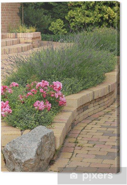 Tableau sur toile Garten - Maisons et jardins