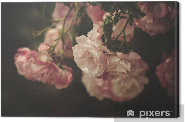 Tableau sur toile Gentle roses - iStaging