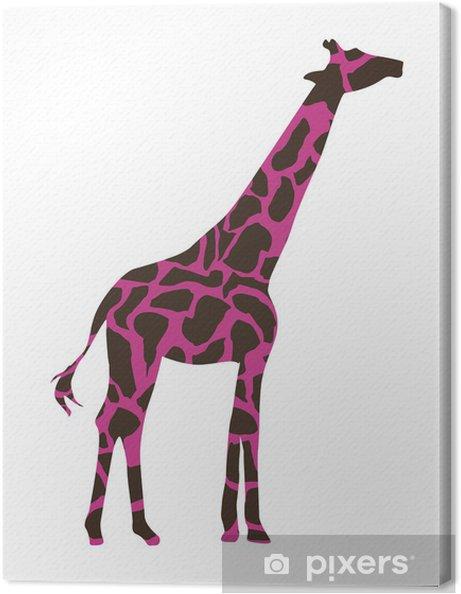Tableau sur toile Girafe conception - Autres objets
