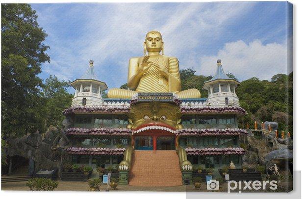 Tableau sur toile Golden Temple, Dambulla, Sri Lanka - Asie