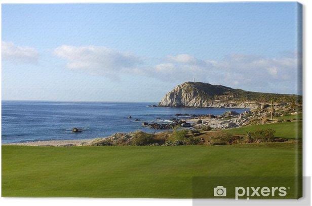 Tableau sur toile Golf à Los Cabos, Basse-Californie, Mexique - Vacances