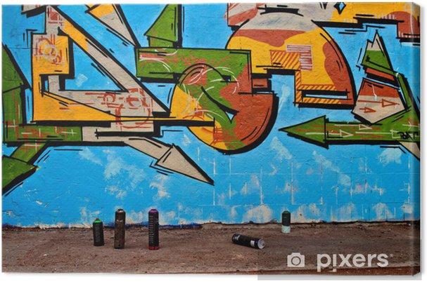 Tableau sur toile Graffiti et aérosols - Art et création