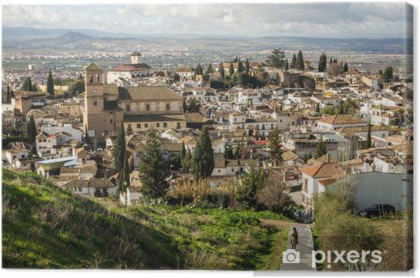 Tableau sur toile Granada - Europe