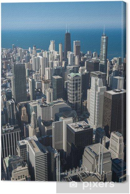 Tableau sur toile Gratte-ciel de Chicago - Thèmes