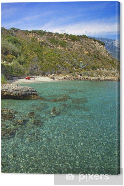Tableau sur toile Grèce; ioniennes, Céphalonie: plage d'Aghio Thoma - Europe