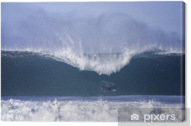 Tableau sur toile Grosses vagues à la plage de Bondi - Eau