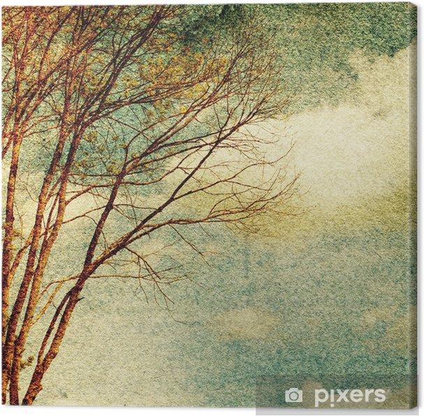 Tableau sur toile Grunge nature vintage fond - Thèmes