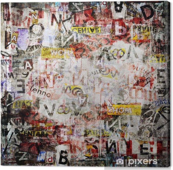 Tableau sur toile Grunge Textured Background - Thèmes
