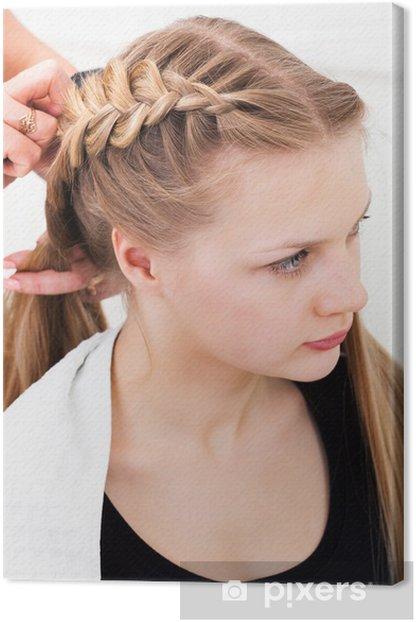 Tableau sur toile Hair Styling - Beauté et soins du corps