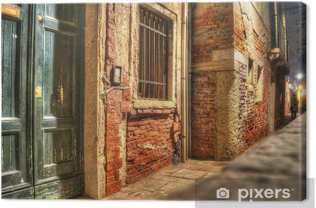 Tableau sur toile Hdr mur - Villes européennes