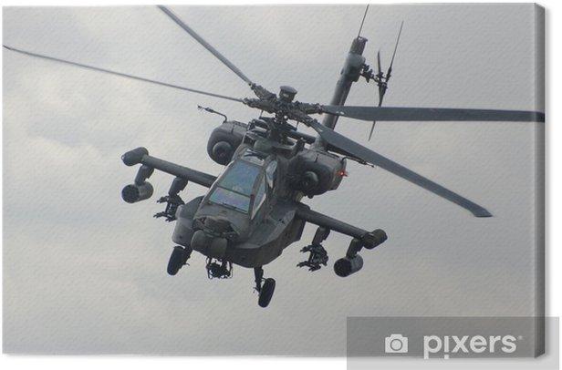 Tableau sur toile Hélicoptère Apache - Thèmes