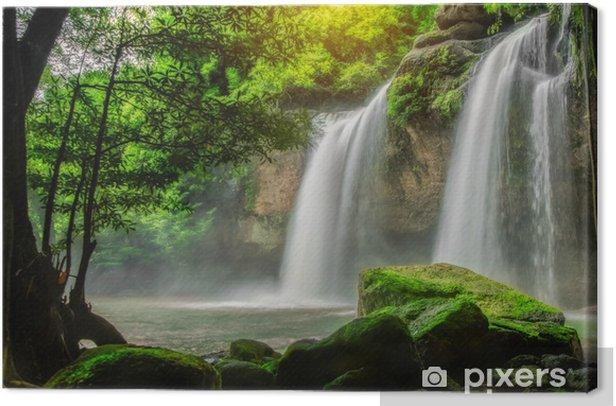 Tableau sur toile Heo Suwat Waterfall - Thèmes