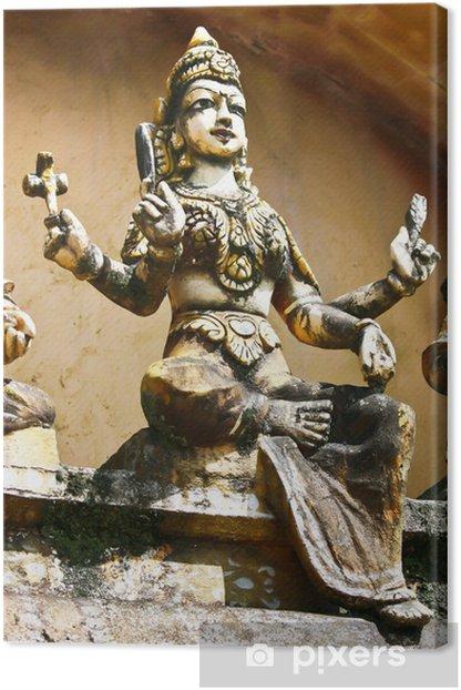 Tableau sur toile Hindi Statue2 - Religion