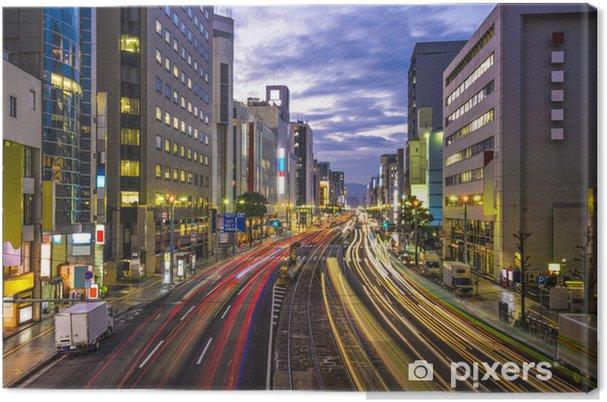 Tableau sur toile Hiroshima, Japon paysage urbain - Asie