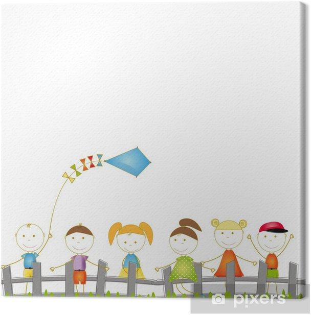 Tableau sur toile Histoire destinée aux enfants - Divertissements