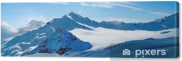 Tableau sur toile Hiver paysage - Styles