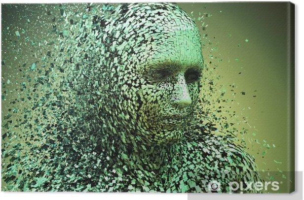 Tableau sur toile Homme brisé - Thèmes