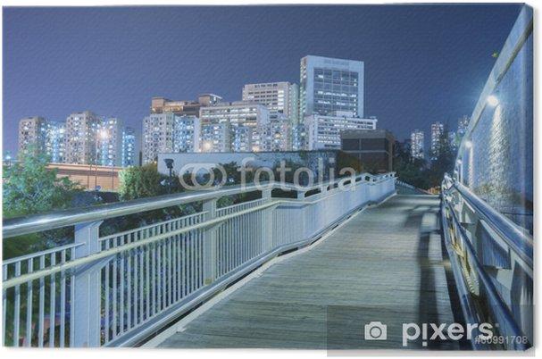 Tableau sur toile Hong Kong Cityscape - Villes d'Asie